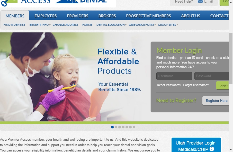 16 Dentist Website Examples to Inspire Your Site 23