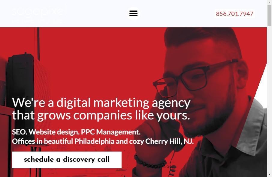 13 Amazing SEO Websites Design Examples in 2021 21