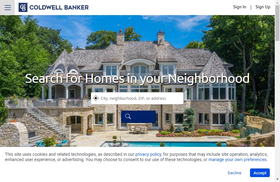 15 Great Real Estate Website Examples 21