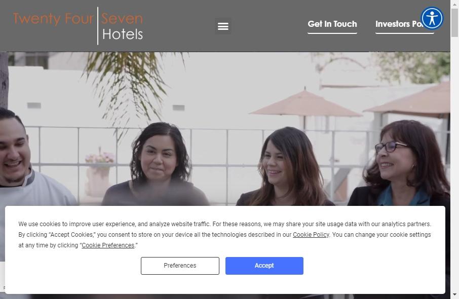 Hotels Websites Design 22