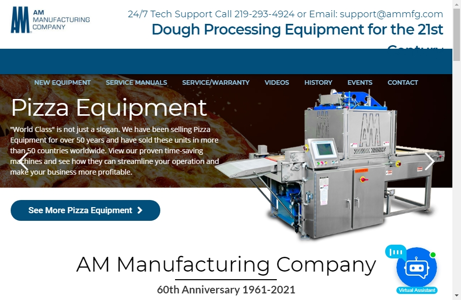 20 beautifully designed Manufacturing websites examples in 2021 23
