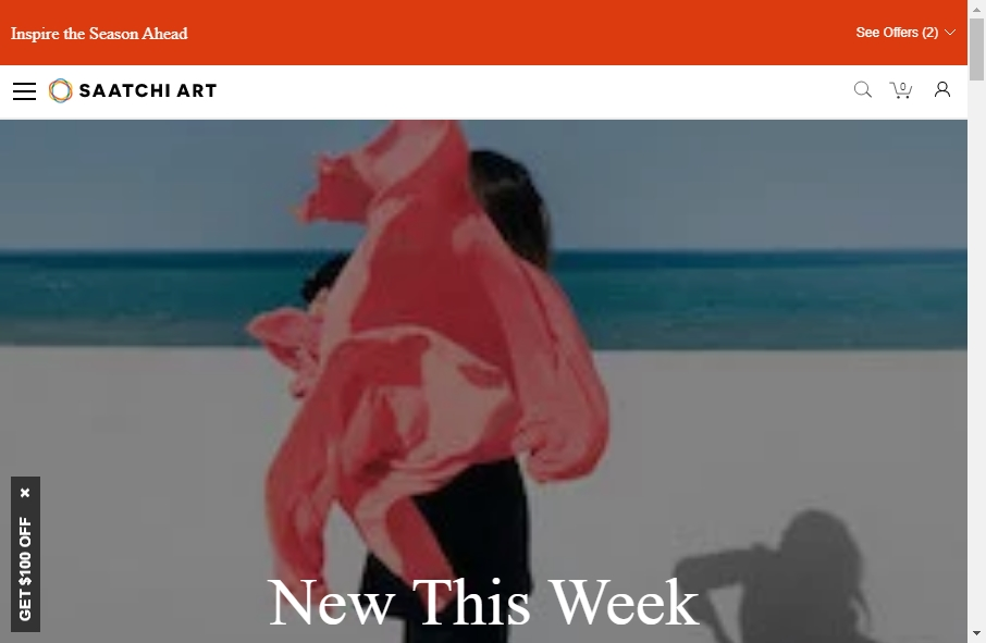 6 beautifully designed Art website examples in 2021 19