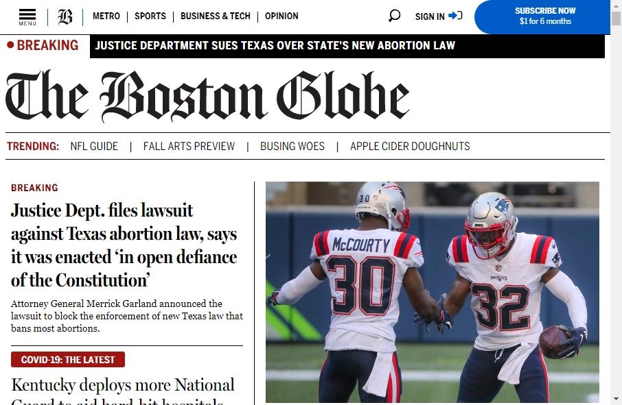 Amazing Newspaper Websites Design Examples in 2021 21