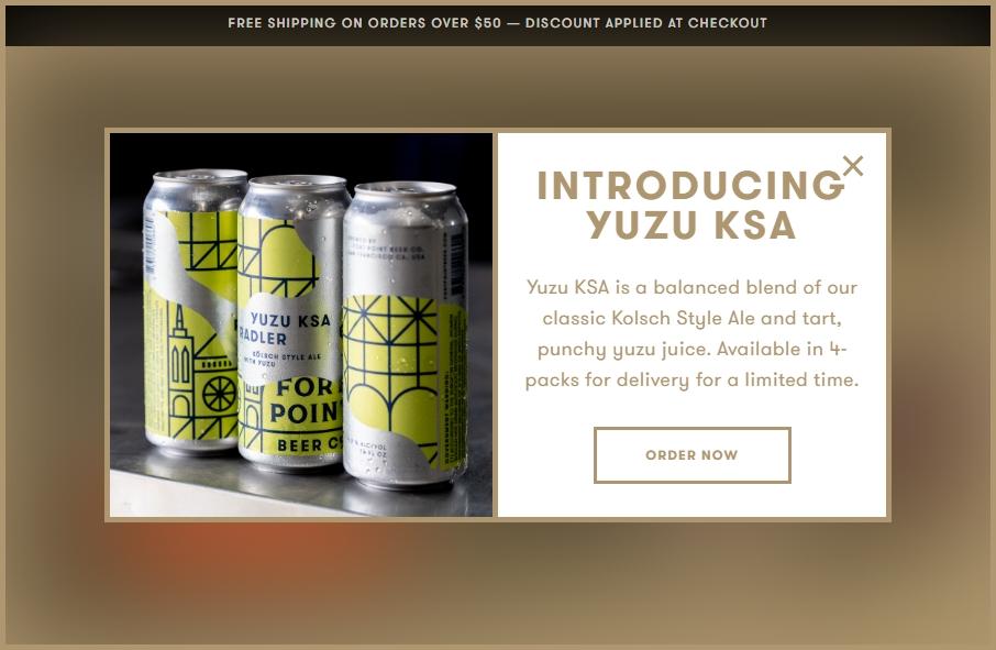15 Beer Websites Examples to Inspire Your Site 21