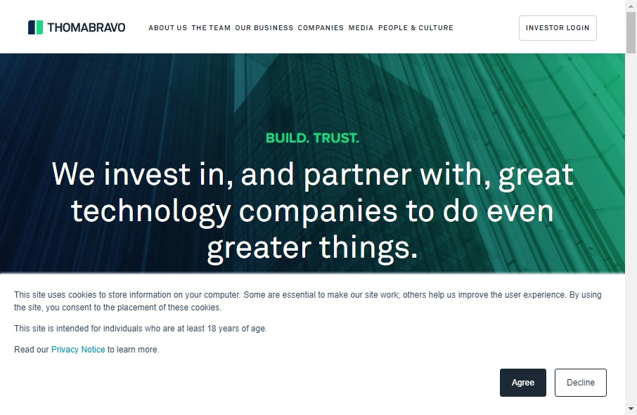 18 Private Equity Website Examples to Inspire Your Site 24