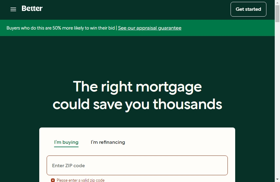 11 Examples of Inspirational Mortgage Websites 19