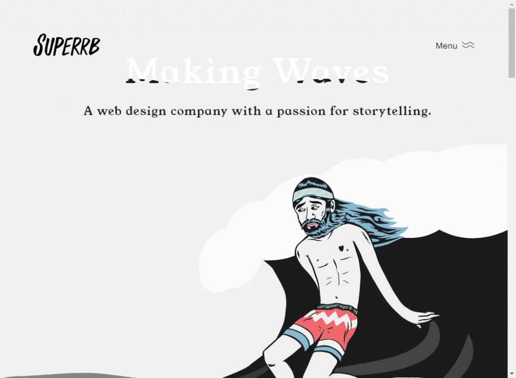 19 Beautifully Designed Illustrative Websites 24