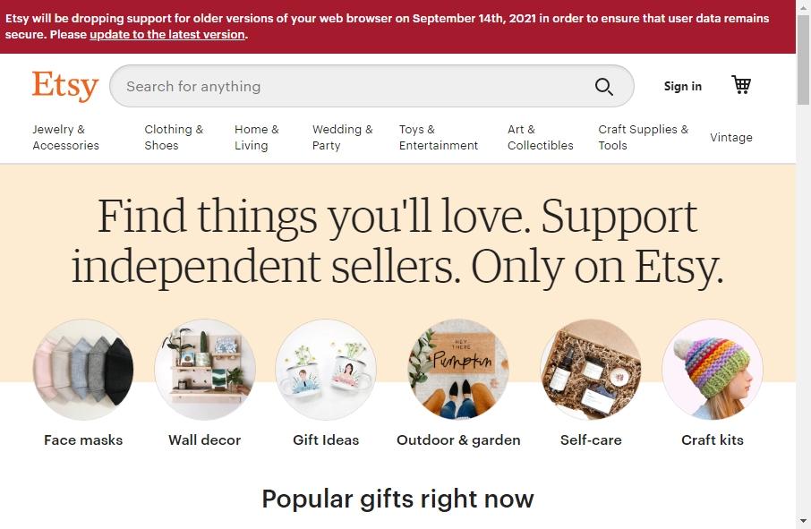 Online Retail Website Design 24