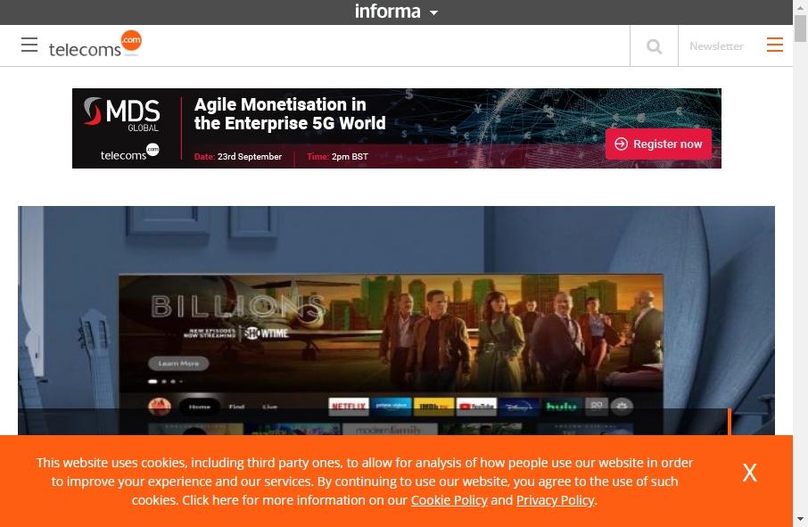 Telecom Website Design 23