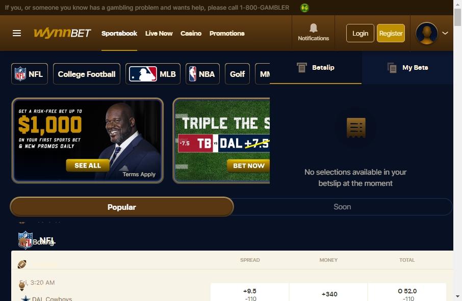 10 Examples of Inspirational Gambling Websites 23