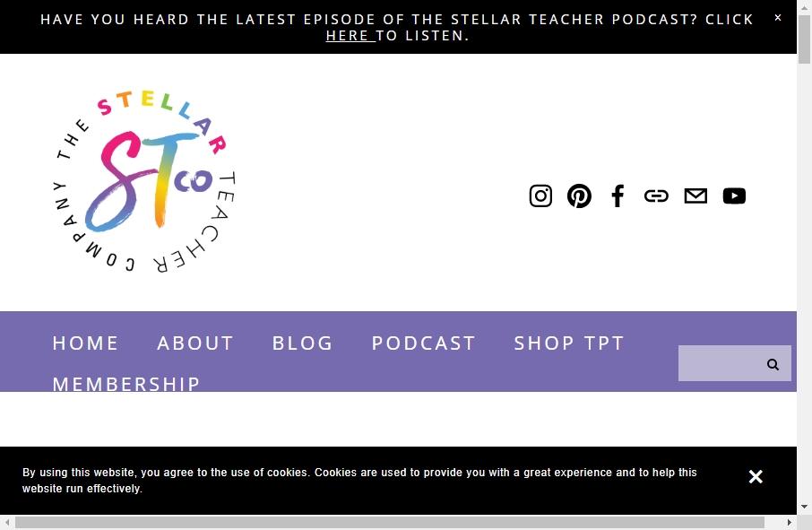 10 beautifully designed Teacher website examples in 2021 21