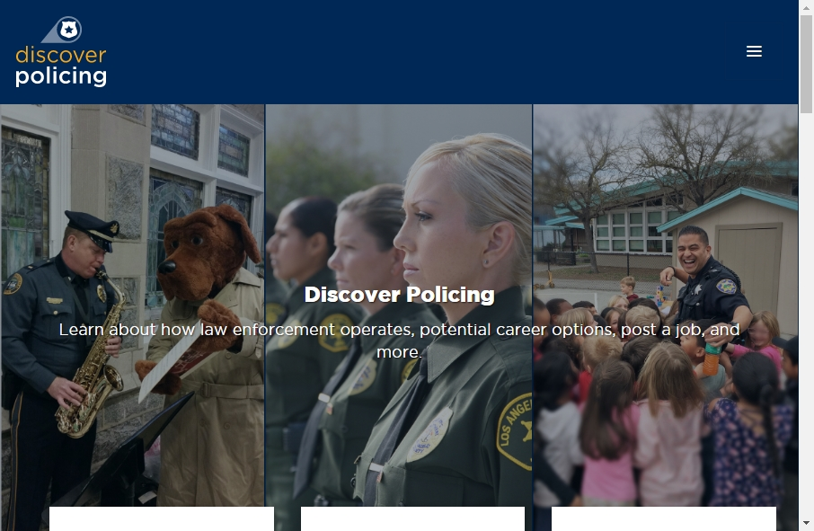 13 Examples of Inspirational Police Websites 23