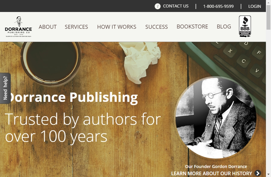13 Great Publishing Website Examples 24