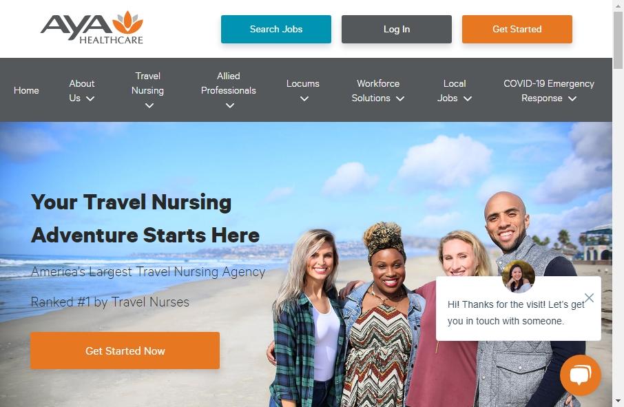 10 Amazing Nurses Website Design Examples in 2021 23