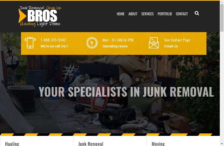 16 Examples of Inspirational Waste Management Websites 24