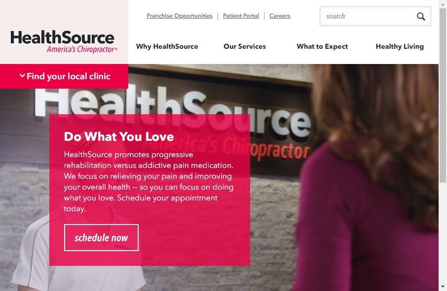 16 Great Chiropractors Website Examples 24