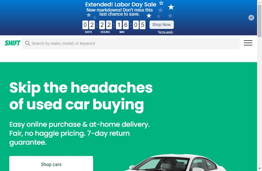 22 beautifully designed Vehicles website examples in 2021 23