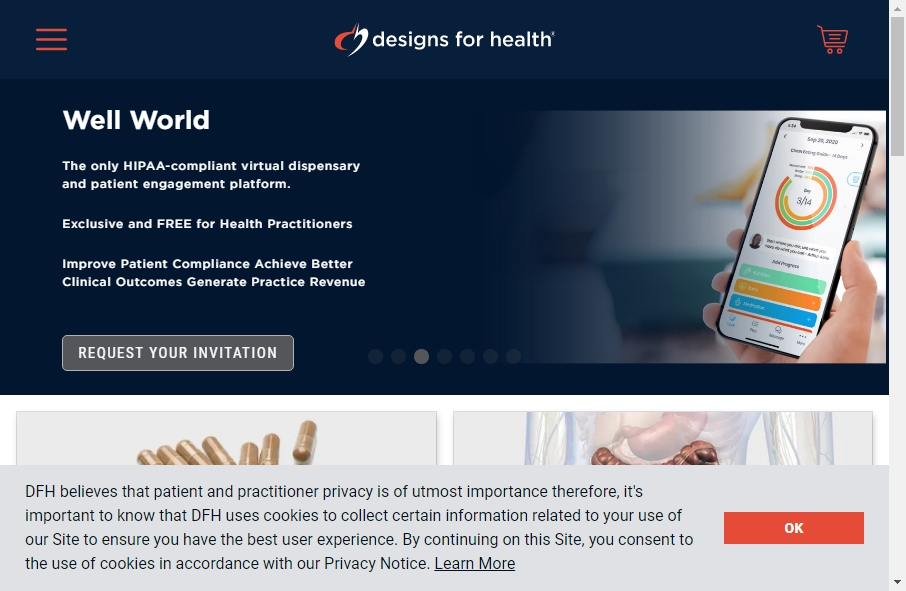 Health Product Websites Examples 24