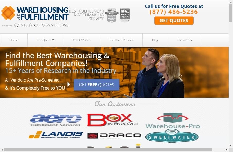 Warehousing Websites Examples 24