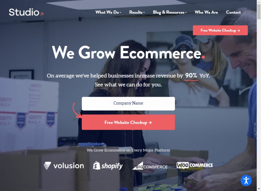 Clean Website Designs 20