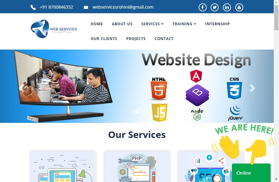 Examples of Inspirational Web service Websites 22