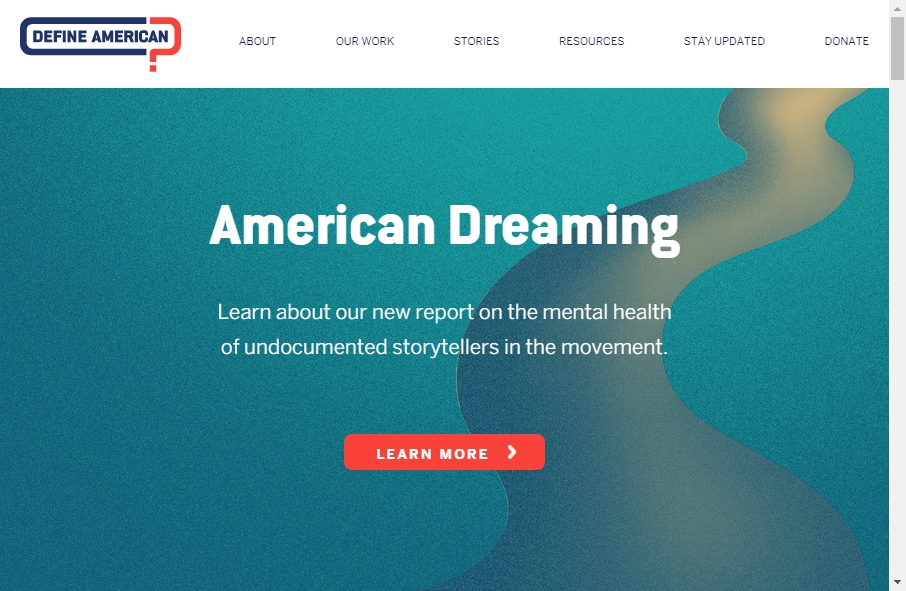 9 Examples of Non Profit Websites With Fantastic Designs 23