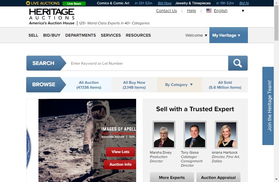 14 Great Auction Websites Examples 23