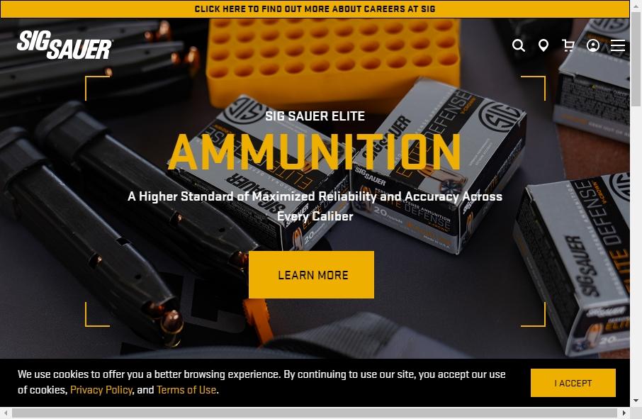 15 beautifully designed Gun website examples in 2021 24
