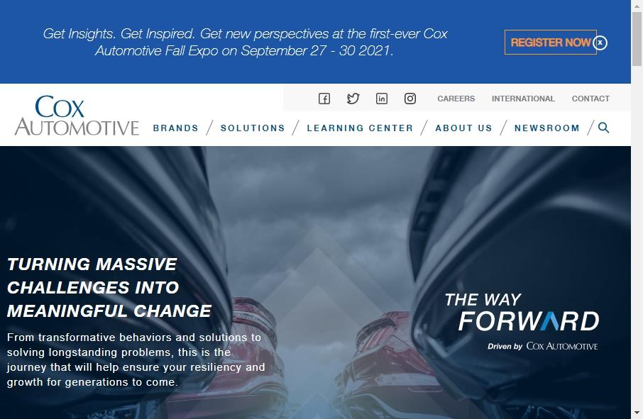 15 Great Automotive Website Examples 23