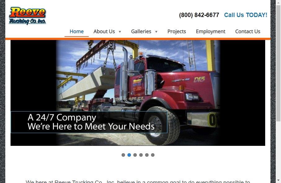 14 Amazing Trucking Website Design Examples in 2021 24