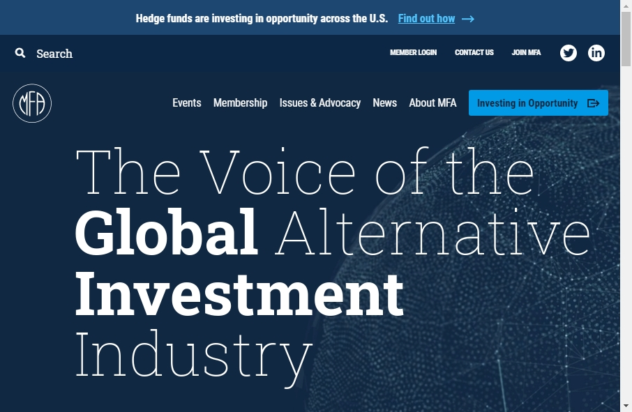 Hedge Fund Website Design 25