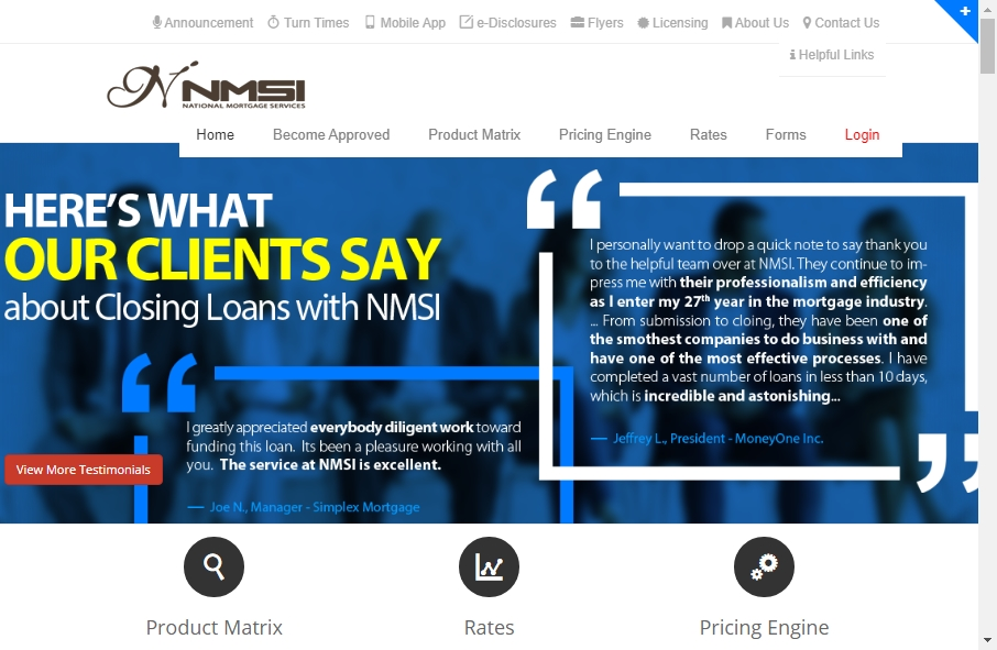11 Examples of Inspirational Mortgage Websites 20