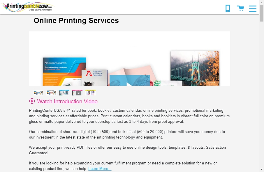 14 Best Printing Website Design Examples for 2021 25