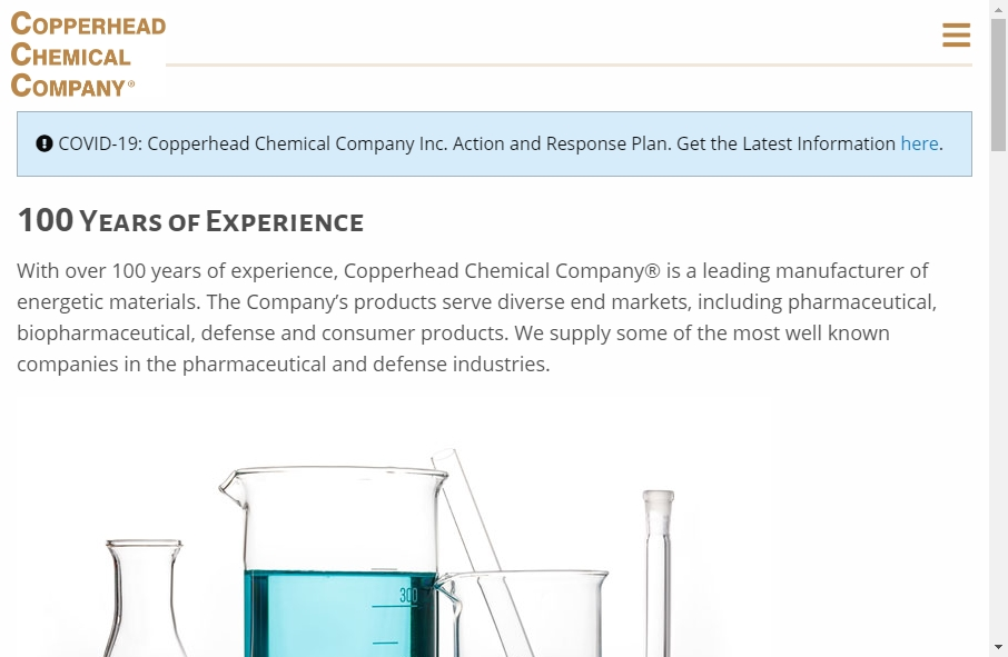 20 Examples of Chemical Websites With Fantastic Designs 22