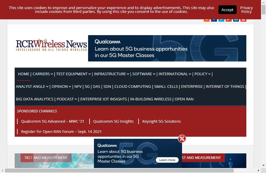 Telecom Website Design 24