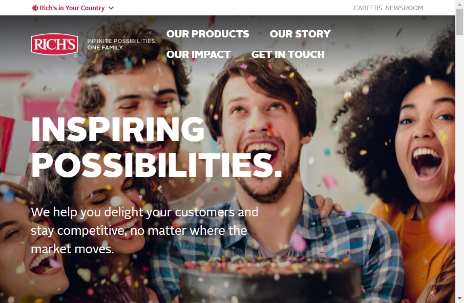 16 Examples of Food Product Websites With Fantastic Designs 24