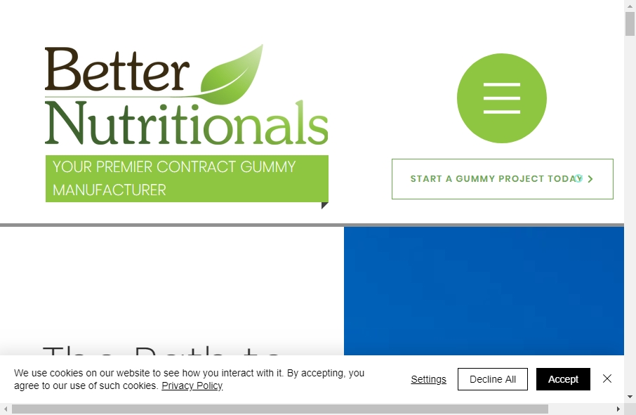 11 Great Nutritional Website Examples 22