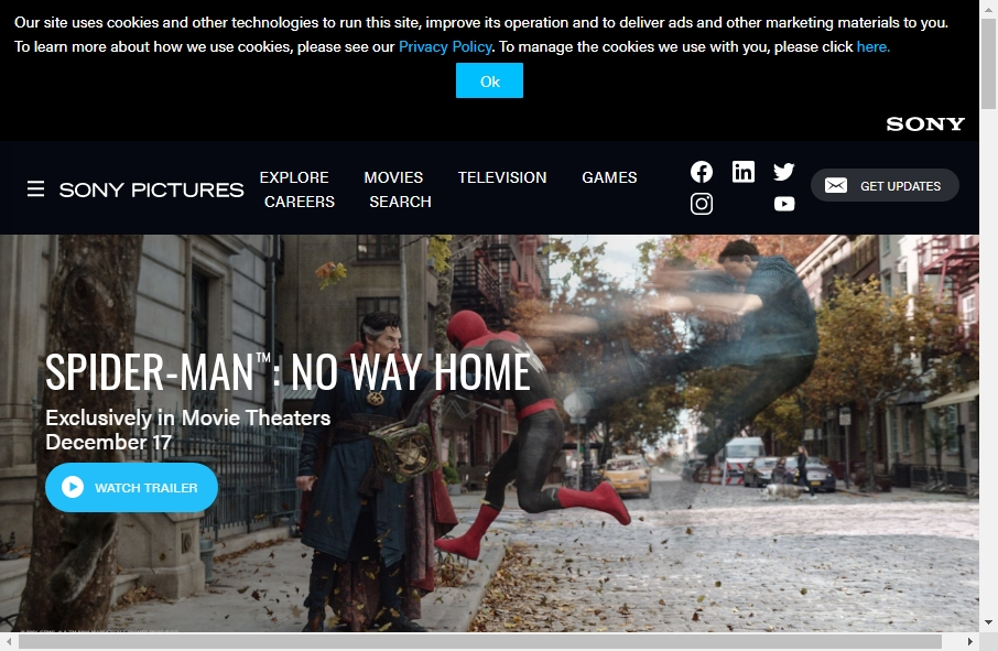14 Entertainment Website Examples to Inspire Your Site 23