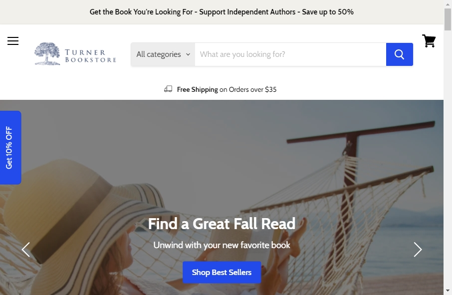 13 Great Publishing Website Examples 25