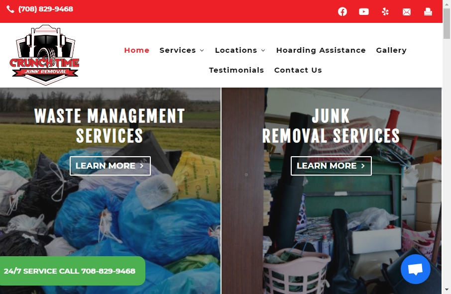 16 Examples of Inspirational Waste Management Websites 25