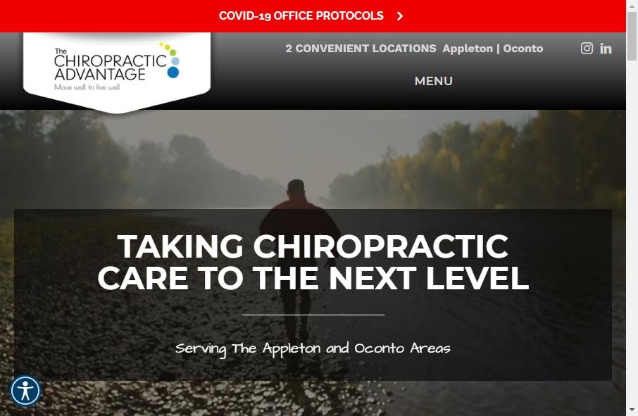 16 Great Chiropractors Website Examples 25