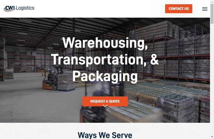 Warehousing Websites Examples 25