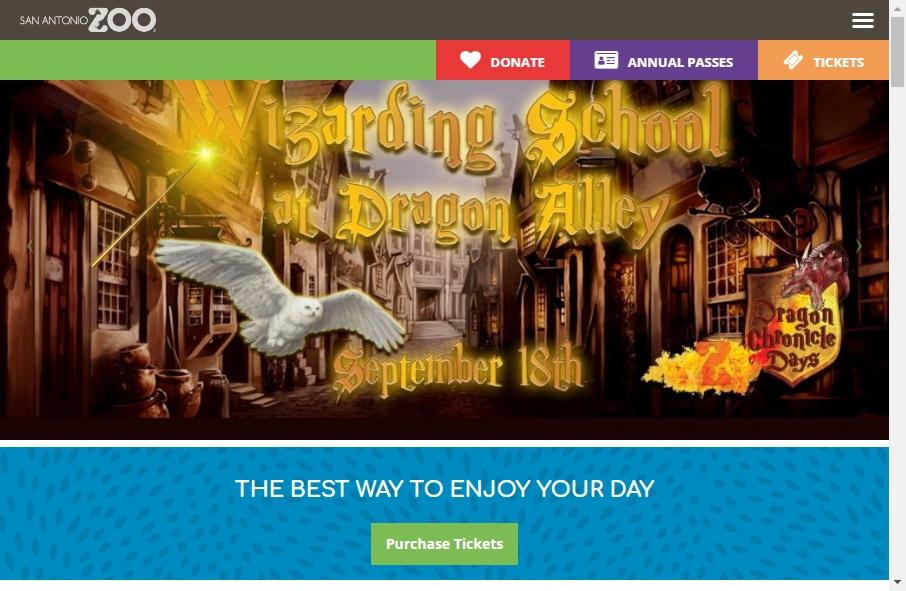 Zoo Websites Design 24