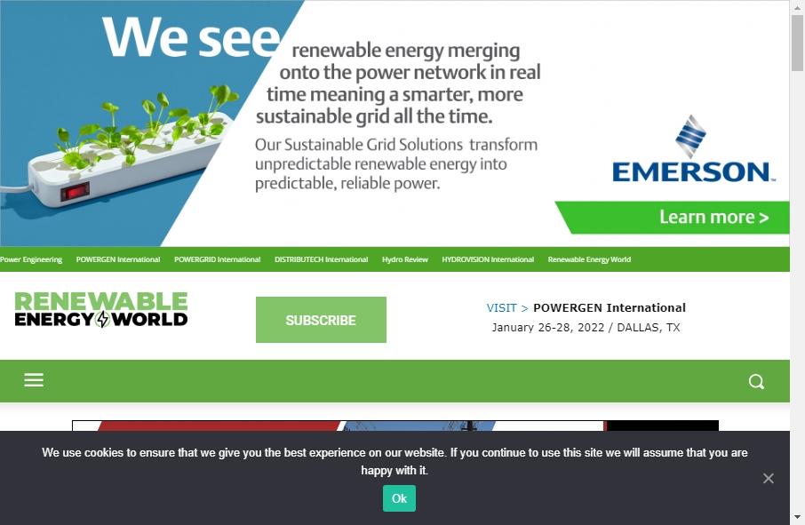 Alternative Energy Website Designs 22