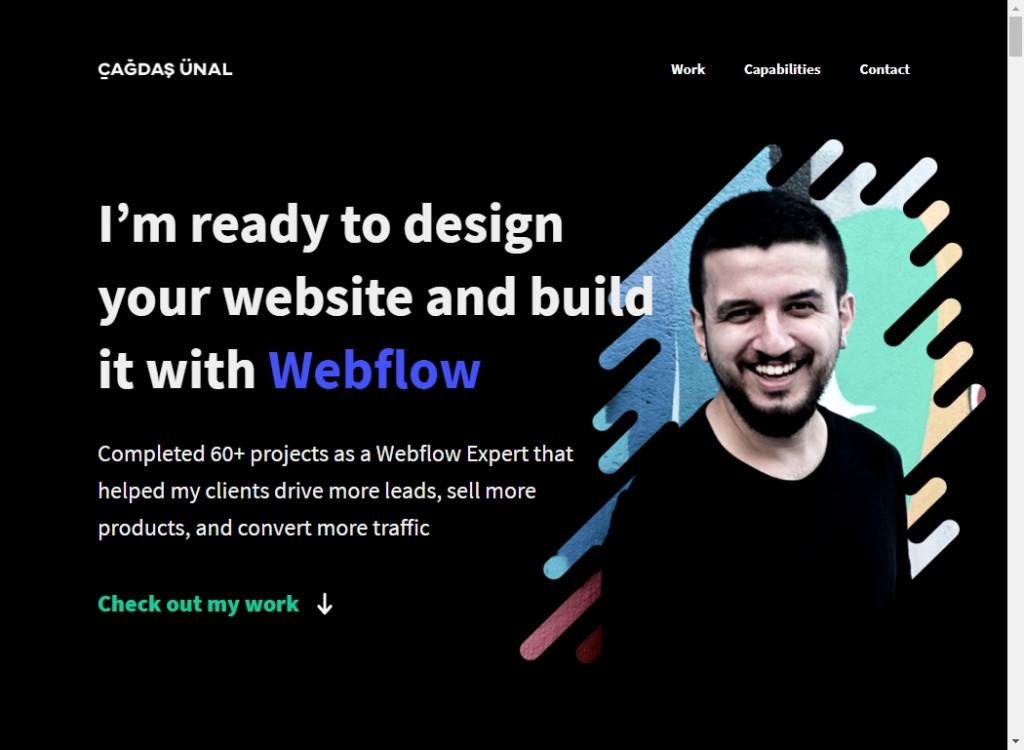 Clean Website Designs 21
