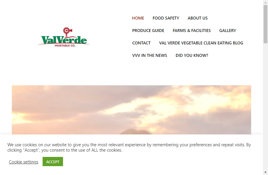 Examples of Vegetable Websites With Fantastic Designs 23