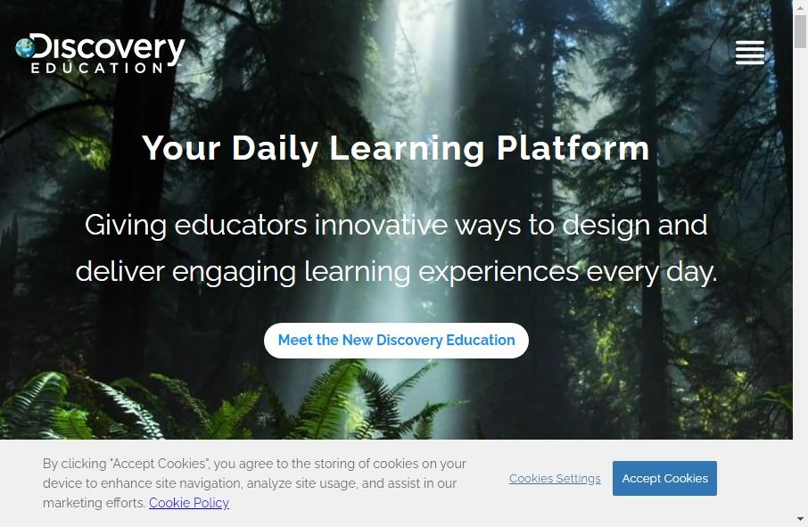 16 Amazing Educational Website Design Examples in 2021 23