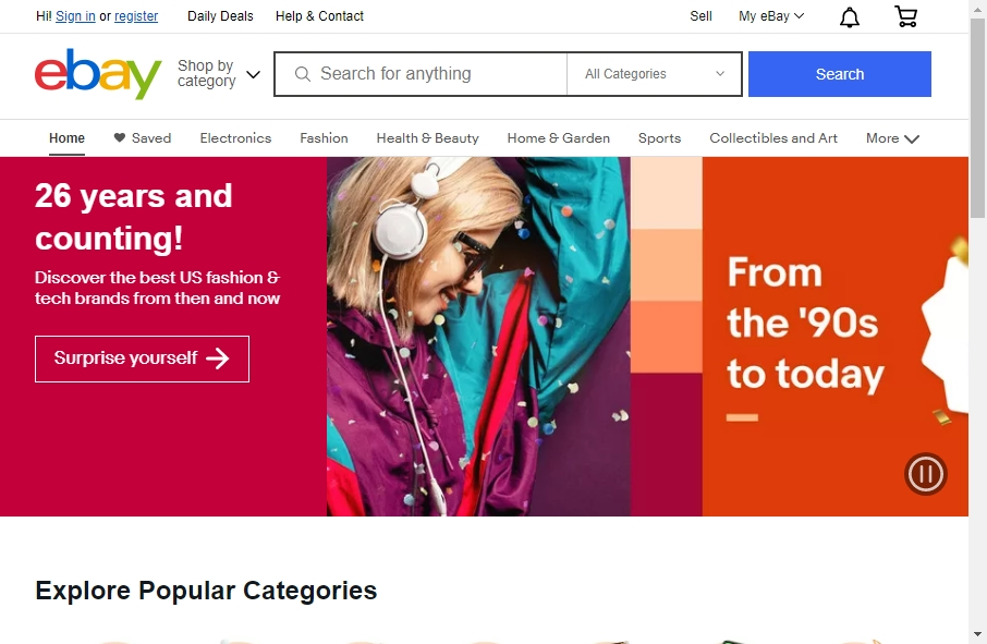13 Great eCommerce Website Examples 24