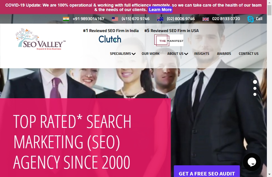 13 Amazing SEO Websites Design Examples in 2021 23