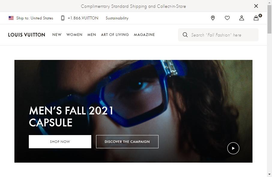 14 Amazing Luxury Website Design Examples in 2021 23